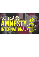 MNESTY INTERNATIONAL 50th ANNIVERSARY